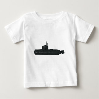 Camiseta De Bebé submarino
