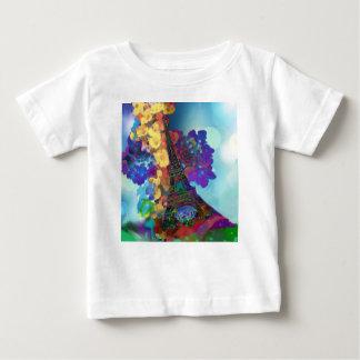 Camiseta De Bebé Sueños de París de flores