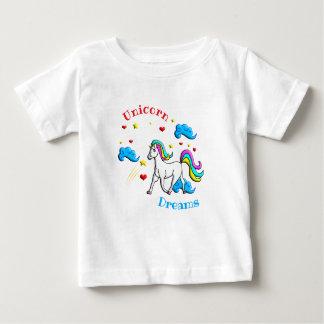 Camiseta De Bebé Sueños del unicornio