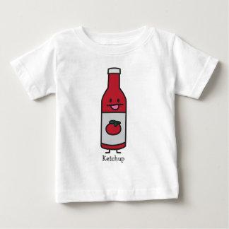 Camiseta De Bebé Suposición del condimento de la tabla de la salsa