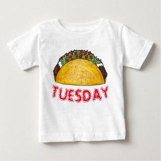 Camiseta De Bebé Tacos Foodie de la comida de Tex Mex del mexicano