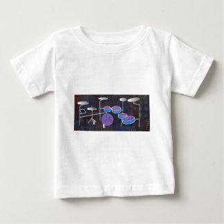Camiseta De Bebé Tambores