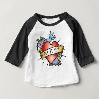 Camiseta De Bebé Tatuaje de la mamá