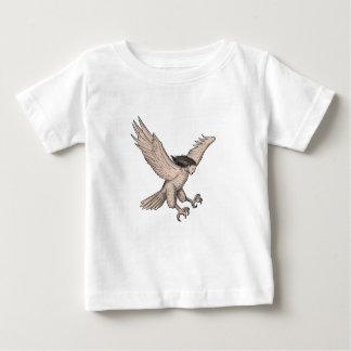 Camiseta De Bebé Tatuaje Swooping del Harpy