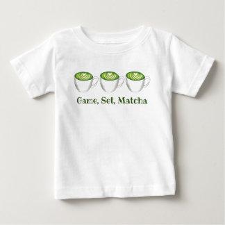 Camiseta De Bebé Té verde Latte Foodie de Matcha del partido