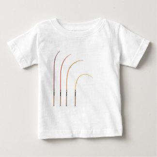 Camiseta De Bebé Tecnología doblada del clip art del ejemplo del