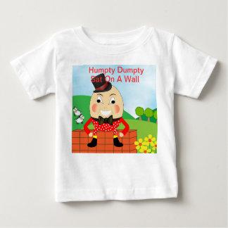 Camiseta De Bebé Tema de la poesía infantil de Humpty Dumpty