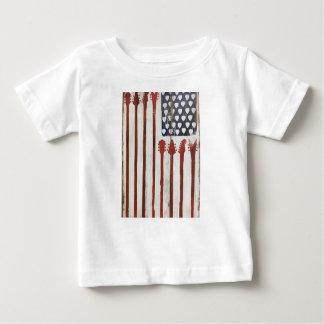 Camiseta De Bebé Tema patriótico de la música de la guitarra de la