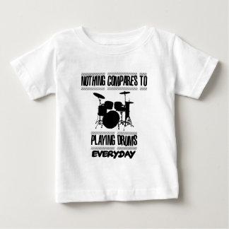 Camiseta De Bebé Tender diseños del batería