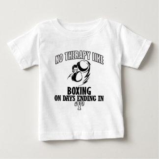 Camiseta De Bebé Tender diseños del boxeo