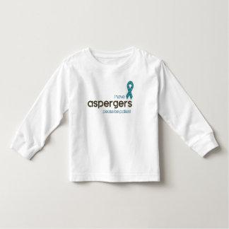 Camiseta De Bebé Tengo Aspergers