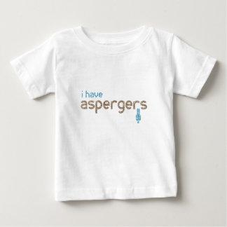Camiseta De Bebé Tengo el hombre de los aspergers