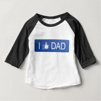 Camiseta De Bebé Tengo gusto del papá