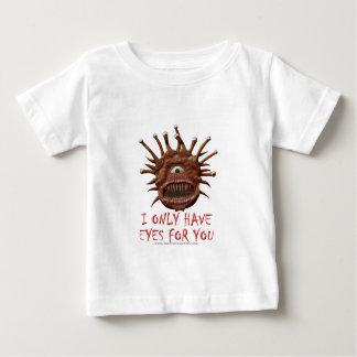 Camiseta De Bebé Tengo solamente ojos para usted