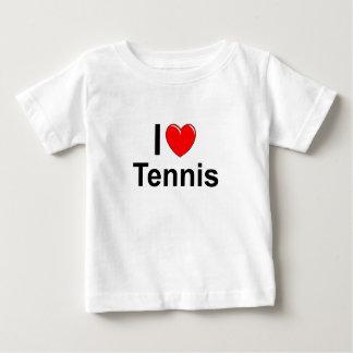 Camiseta De Bebé Tenis del corazón de ILove