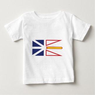 Camiseta De Bebé Terranova y Labrador