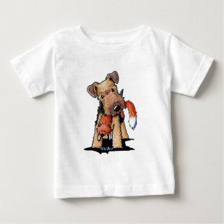 Camiseta De Bebé Terrier galés con el Fox del juguete