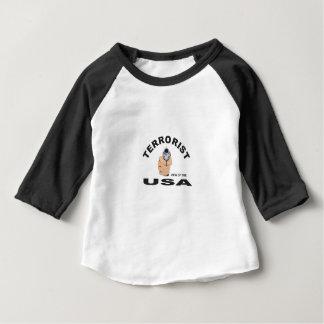 Camiseta De Bebé terrorista en los E.E.U.U.