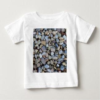 Camiseta De Bebé textura de las rocas de las piedras