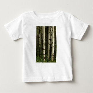 Camiseta De Bebé Textura de un retrato del bosque