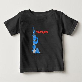 Camiseta De Bebé The Crazytoons