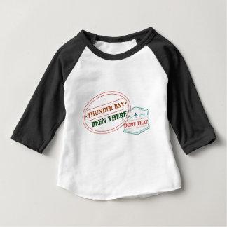 Camiseta De Bebé Thunder Bay allí hecho eso
