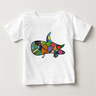 Camiseta De Bebé Tiburón del bebé - siga su sueño