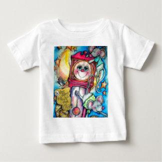 Camiseta De Bebé Tiempo de la poesía infantil del muelle de Dickory