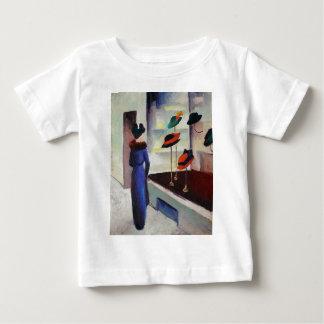 Camiseta De Bebé Tienda de gorra - August Macke
