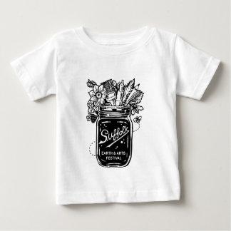 Camiseta De Bebé Tierra de Suffolk y festival de artes 2017