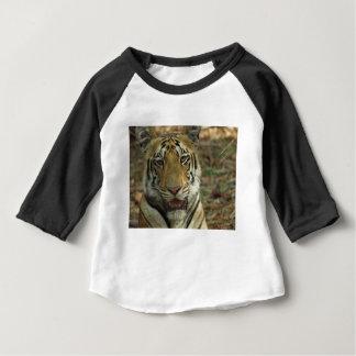 Camiseta De Bebé Tigre hermoso y sonriente