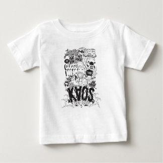 Camiseta De Bebé tipografía