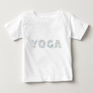 Camiseta De Bebé Tipografía de la yoga
