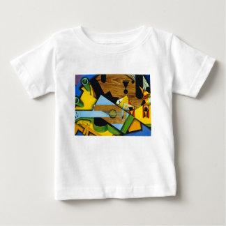 Camiseta De Bebé Todavía vida con una guitarra de Juan Gris