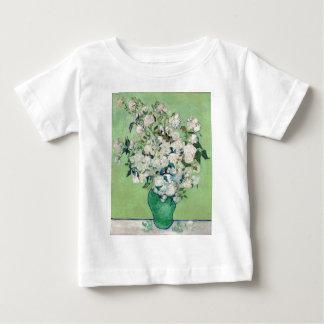 Camiseta De Bebé Todavía vida: Florero con los rosas - Vincent van