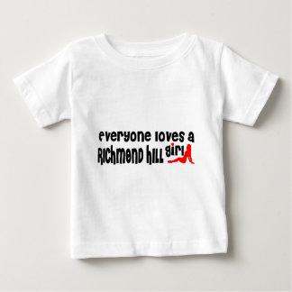 Camiseta De Bebé Todos ama a un chica de Richmond