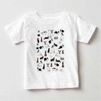 Camiseta De Bebé Todos conejos