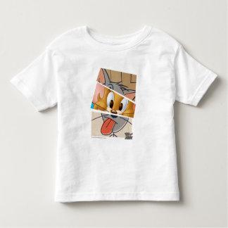Camiseta De Bebé Tom y Jerry el   Tom y Jerry Mashup