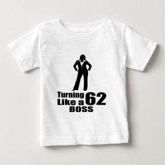 Camiseta De Bebé Torneado de 62 como Boss