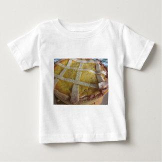 Camiseta De Bebé Torta italiana tradicional Pastiera Napoletana