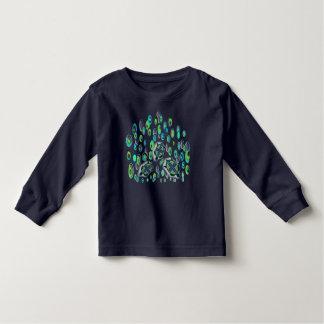 Camiseta De Bebé tortuga 37 de la turquesa