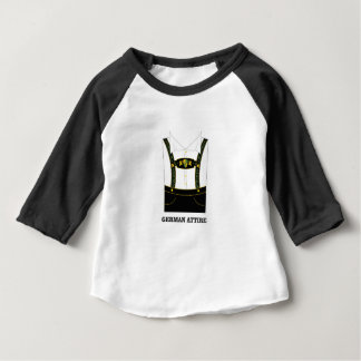 Camiseta De Bebé Traje alemán