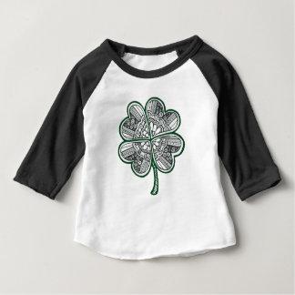 Camiseta De Bebé Trébol 1 de la licencia cuatro