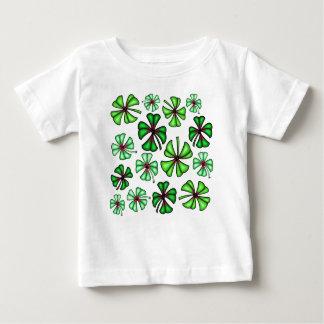 Camiseta De Bebé Trébol afortunado del trébol