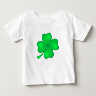 Camiseta De Bebé Trébol De Cuatro Hojas