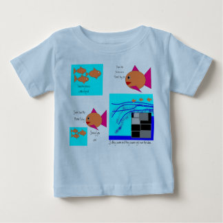 Camiseta De Bebé Tres pequeños pescados