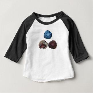 Camiseta De Bebé Tres rocas bonitas