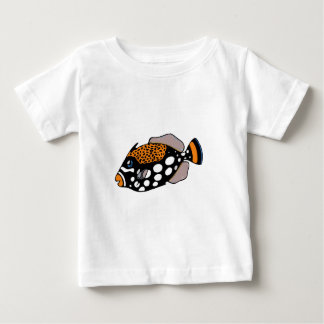 Camiseta De Bebé Triggerfish del payaso
