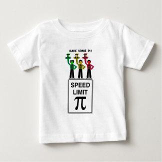 Camiseta De Bebé Trío cambiante de la luz de parada en el wCaption