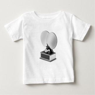 Camiseta De Bebé Trofeo de plata de los tenis de mesa